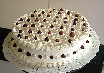 Domande for Decorazioni di torte con panna montata