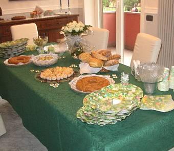 Buffet prima comunione elena - Tavolo per prima comunione ...