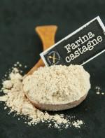 Le farine naturalmente senza glutine: farina di castagne