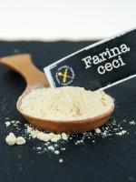 Le farine naturalmente senza glutine: farina di ceci