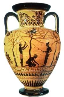 La produzione dell 39 olio extravergine la raccolta for Vasi antichi romani