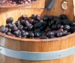 OLIVE. La conservazione. Le olive nere aromatiche