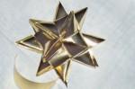 NATALE. LE DECORAZIONI – L'origami a stella
