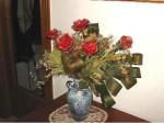 NATALE. LE DECORAZIONI – Le rose con il nastro
