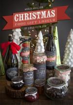 NATALE. LE ETICHETTE – Effetto lavagna per i regali commestibili!