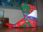 NATALE. LE DECORAZIONI – La scarpa di babbo Natale