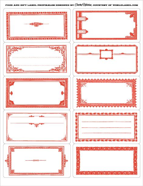 Favoloso etichette Archives - Pagina 2 di 3 - Coquinaria.it IF47