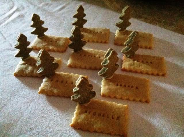Segnaposto Natalizi Biscotti.Natale Le Decorazioni I Segnaposto Di Biscotto