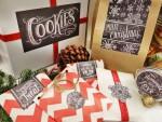 NATALE. LE ETICHETTE – Etichette regali effetto lavagna